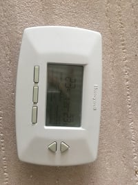 white Honeywell thermostat Markham, L3T 1R9