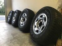 Tires and rims for SUV. Almost New Moorpark, 93021