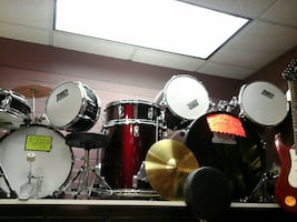 TKO 5pc drum set