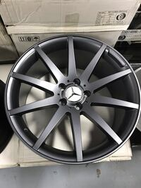 19 Inch New Staggered Matte Grey 19X95 19X85 Wheels Rims Rines