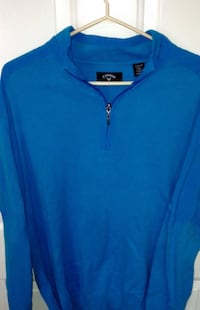 Callaway Pullover Knit Sweater 1/4 Zip Size XL London