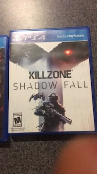 PS4 Killzone Shadow Fall and bound by flame for 35 dollars HANOVER