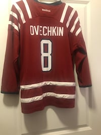 Ovechkin Capitals  jersey Herndon, 20171