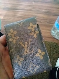 black and brown Louis Vuitton leather wallet Santa Ana, 92705