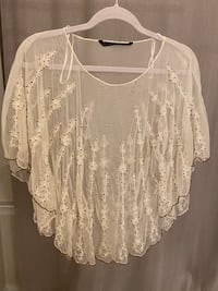 Zara Collection Lace Top 海厄兹维尔, 20782