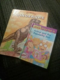 Dinosaurs and Arthur and the Popularity Test books Roseburg, 97470