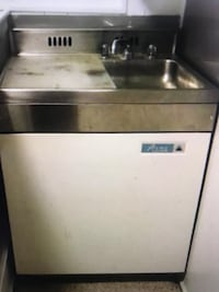 Antique acme refrigerator freezer with sink Silver Spring, 20904