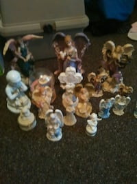 angel figurine lot Warren, 44483