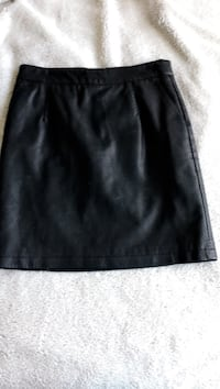 Faux leather skirt Calgary