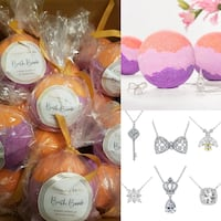 Charmed Aroma Sunset Glow Necklace Bathbombs Langley, V2Y 0E8