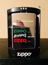 Collectible Zippo Lighter (4 Day Sale Price) Guthrie, 73044