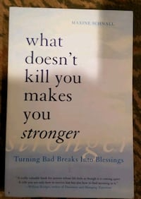 What doesn't kill you makes you stronger  Glenn Dale, 20769