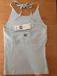 Light blue halter top Mc Lean, 22101