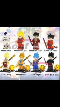 Nip Big Dragon Ball Z 8pc RARE Lego Manchester, 03103