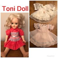 1950's TONI DOLL P-91 by Ideal Roselle, 60172