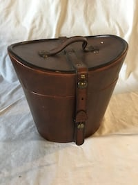Leather hat box Ringgold, 30736