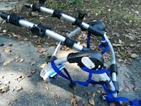 blue and white bicycle frame Rockville, 20853