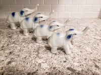Vintage ceramic elephants  White Marsh