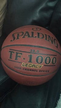 red and black Spalding basketball Toronto, M5J 2R9