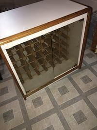 white and brown wooden bottle rack Brookeville, 20833