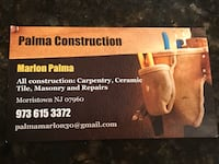 Construction services Parsippany