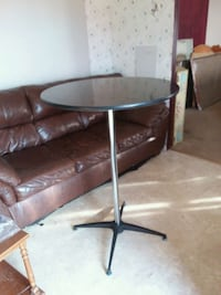 """Tall table 43"""" tall 30"""" round  Avondale, 19311"""