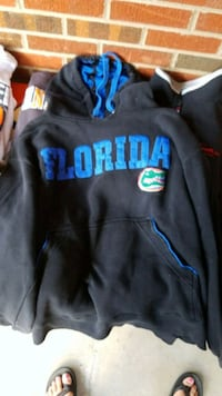 black and blue pullover hoodie Powell, 37849