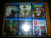 PS4 Games 30.00 each