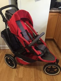 Used Phil Amp Ted S Double Jogging Stroller For Sale In East