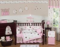 Baby Bedding Set (Sweet JoJo Mod Dots Collection) HOUSTON