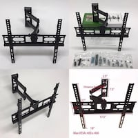 New in box 22 to 55 inches swivel full motion tv television wall mount bracket flat screen monitor 90 lbs capacity  South El Monte, 91733
