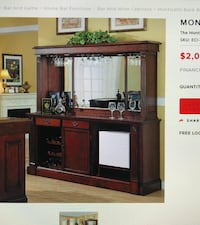 Monticello collection Hutch only for Back Bar. Allentown, 08691