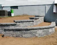 brick work patio walkway walls and concrete brick repairs povers stone are made all kinds of work you want to do do not hesitate to ask we will grab it at a good price Manassas