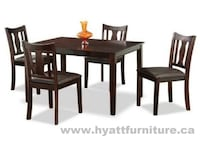 Brand new 5pcs Solid Wood Dinette