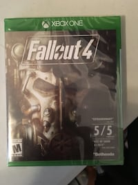 Brand new still in original plastic Fallout 4 for Xbox one Providence, 02908