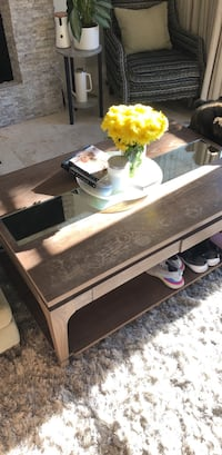 coffee table has cup marking but very well built Newport Beach, 92625