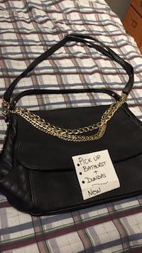 Black cross body bag Toronto, M6J 2P6
