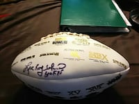 Autographed football Tampa, 33613