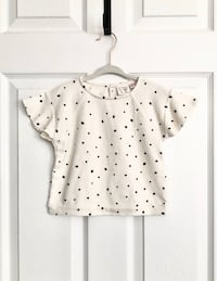 Zara baby girl dotted top size 12-18 months  Mississauga, L5M 0H2