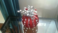 Christmas bauble tealight