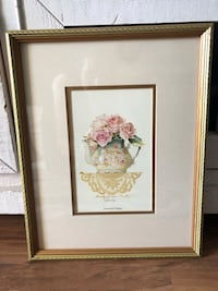 """12x15"" Shabby Chic Picture in Gold Frame Ashburn, 20147"