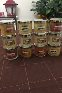 Slatkin & co candles 8 for $20 or all for $50 bath & body works brand Hanover, 21076