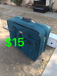 blue and black travel luggage Bakersfield, 93305