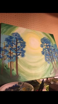 Blue Forest Painting  Norfolk, 23503