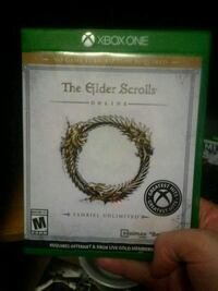 Xbox One The Elder Scrolls game case Evansville, 47712