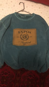 blue and brown Expos Montreal-printed sweater Oakville, L6M 2M6