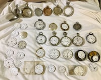 Huge Lot of Antique and Vintage pocket Watches Newport News, 23608
