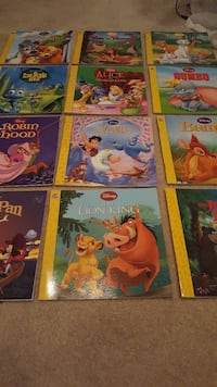 12 Disney books
