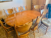 Solid wood dining table for eight!!! Las Vegas, 89120