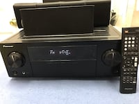 Pioneer av stereo receiver, subwoofer, speakers and remote! Lexington Park, 20619